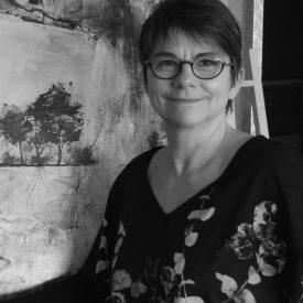 Anne HERVY photo noir et blanc